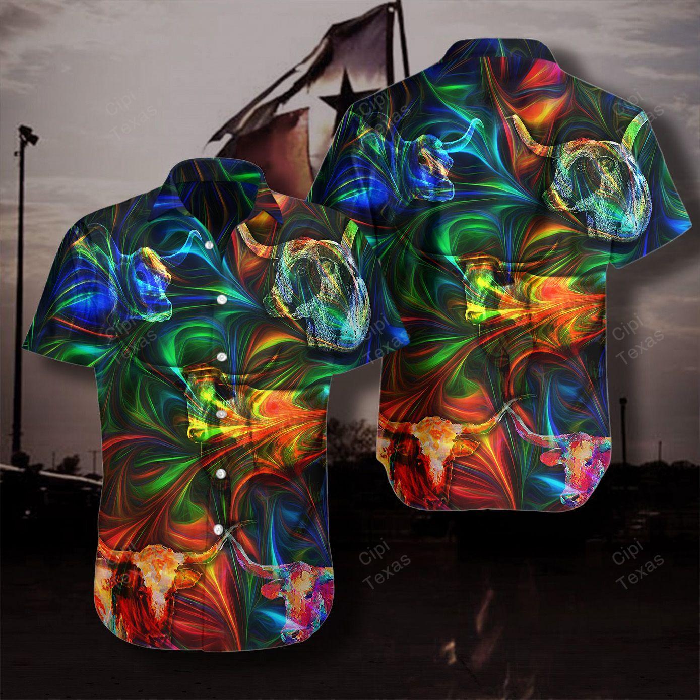 Amazing Texas Longhorn Unisex Hawaiian Shirt