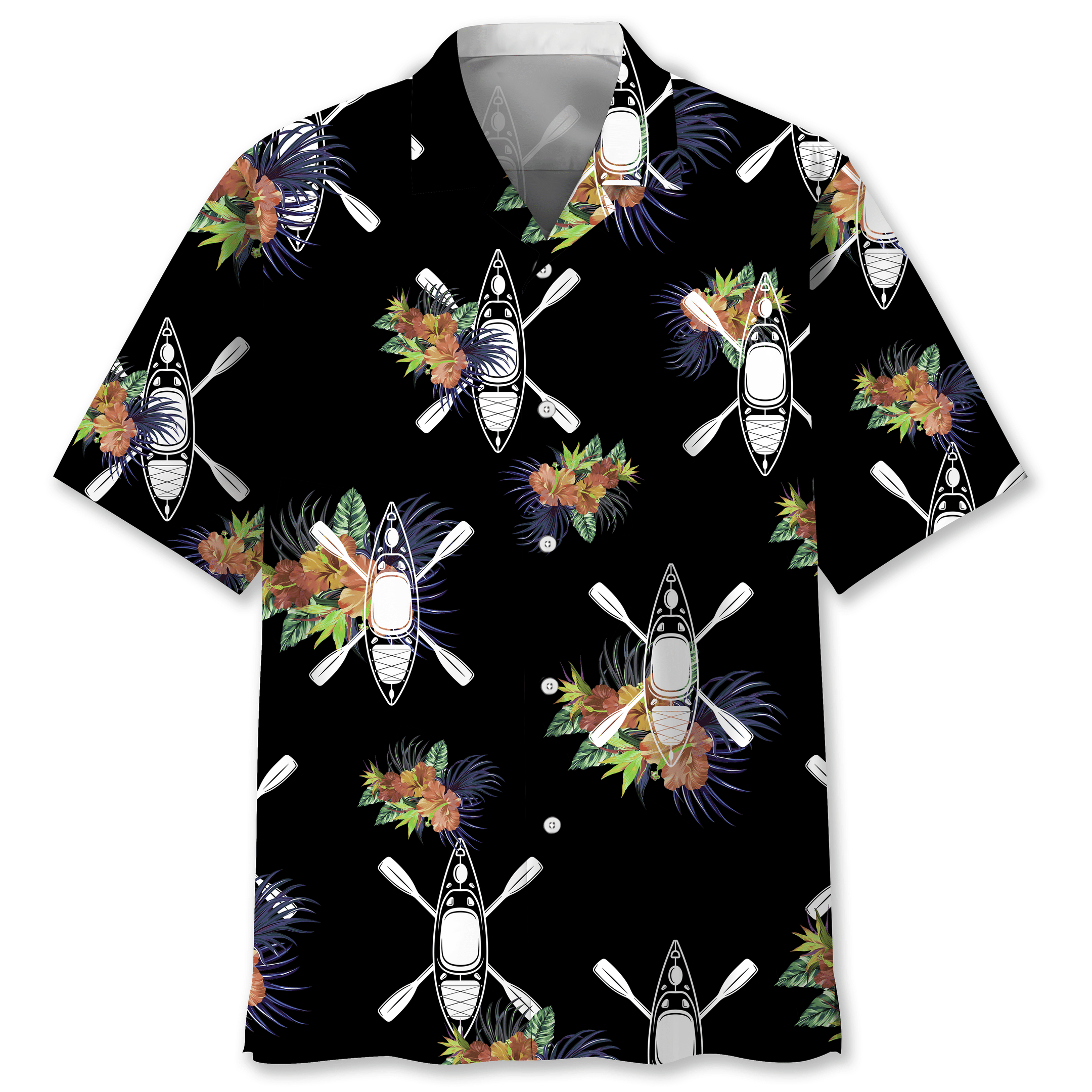 Kayak Hawaiian Nature Shirt