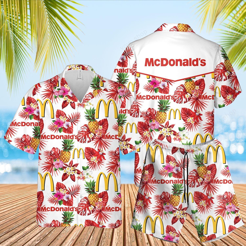 McDonald Hawaiian Shirt and Summer Shorts