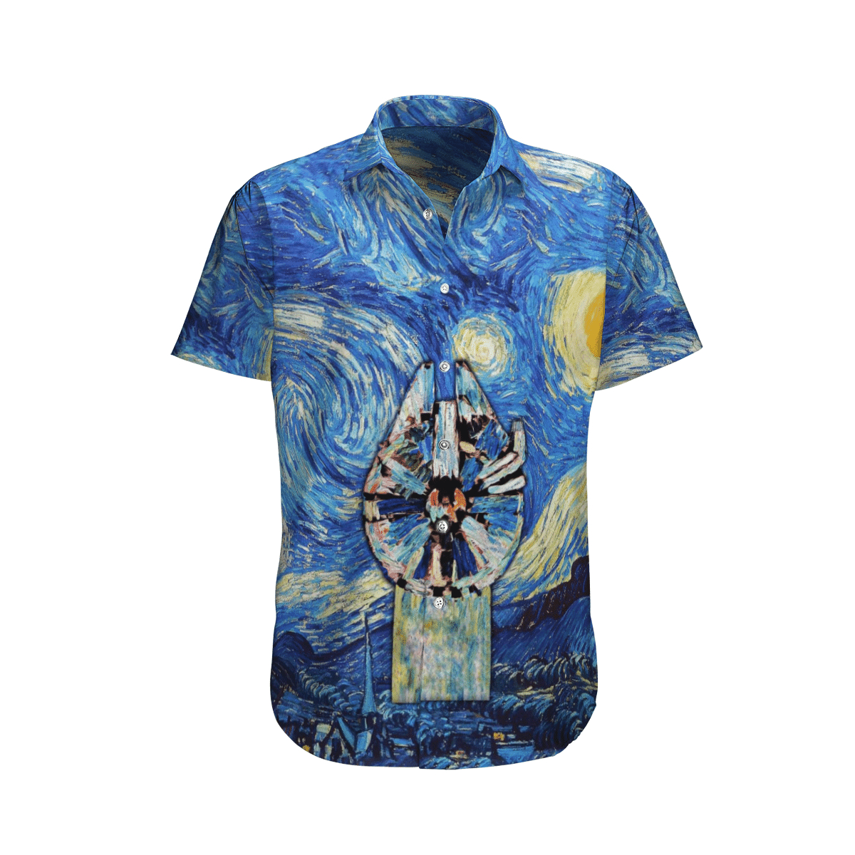 Star wars Oil paint Hawaiian Shirt