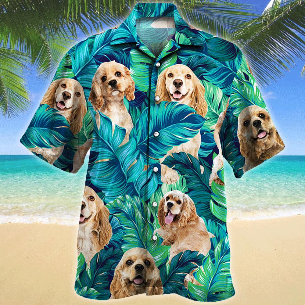 American Cocker Spaniel Dog Lovers Gift Hawaii Shirt