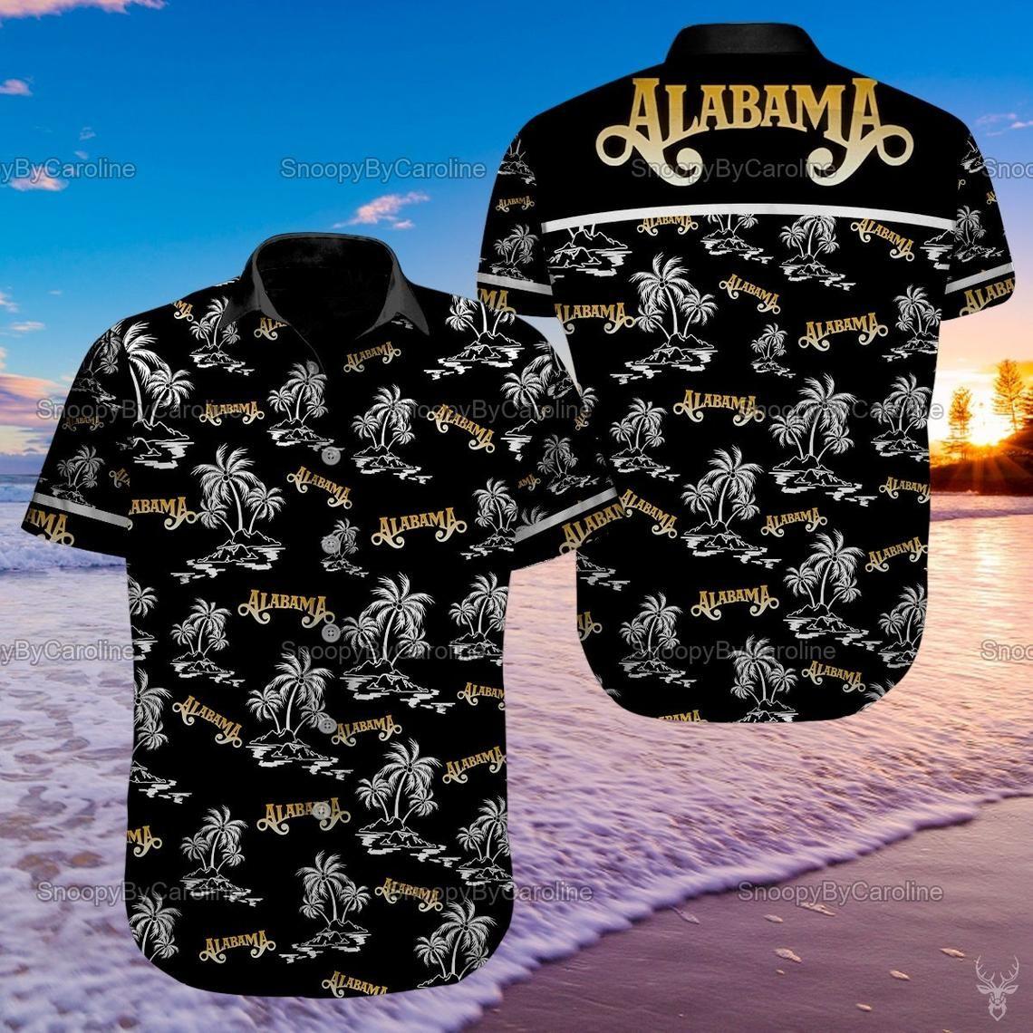 Alabama Rock Music Band Hawaiian Shirt