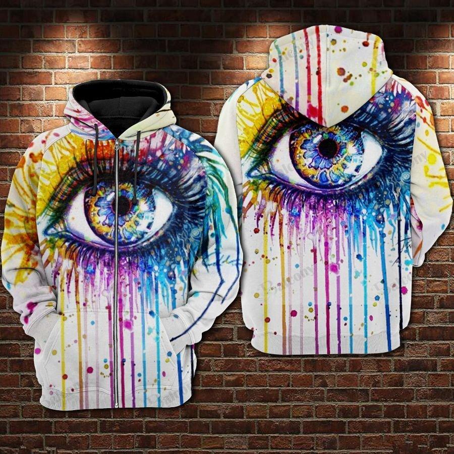 LGBT Apple of the eye Pride Love is Love 3D hoodie