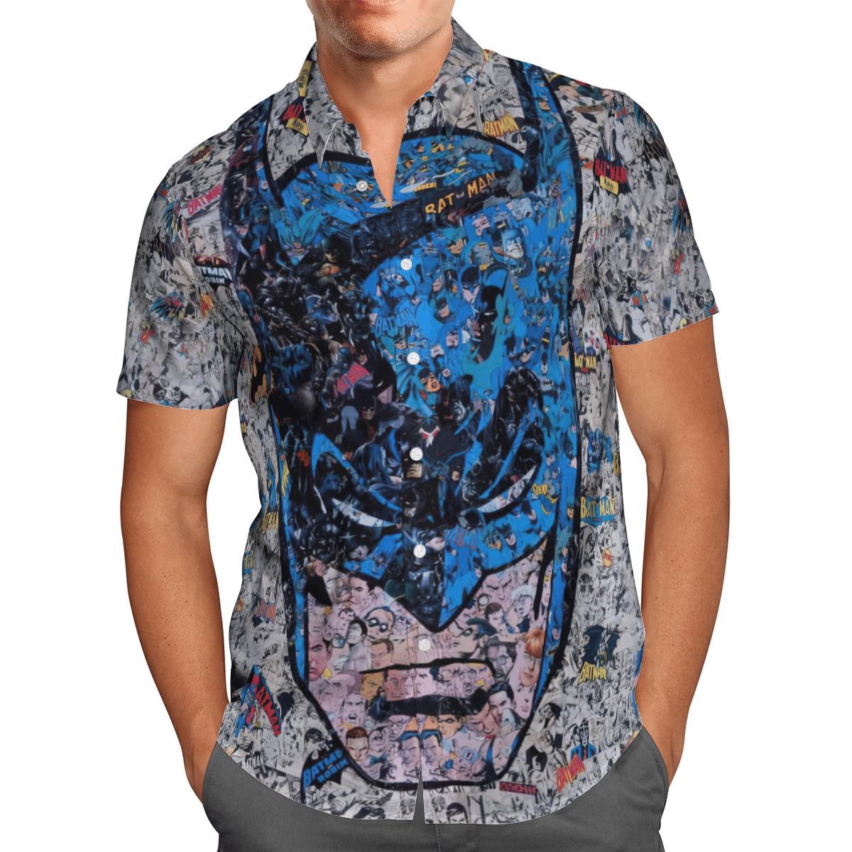All Batman and Robin scene Hawaiian Shirt