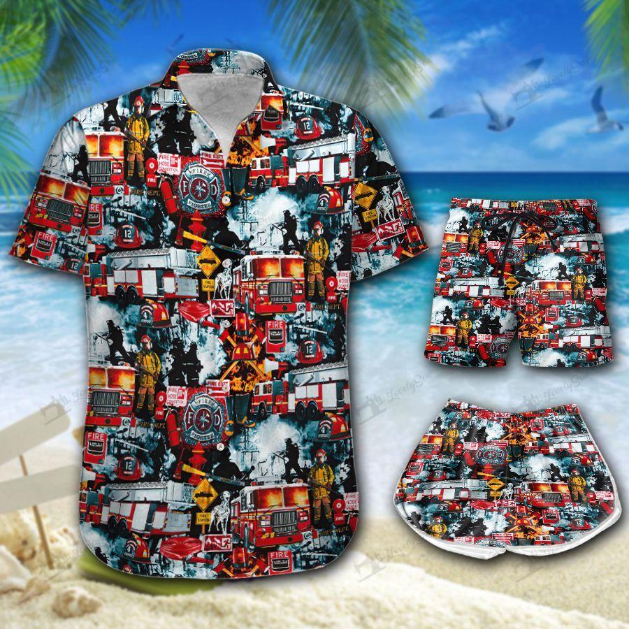 Firefighter Trucks Best Hawaii shirt