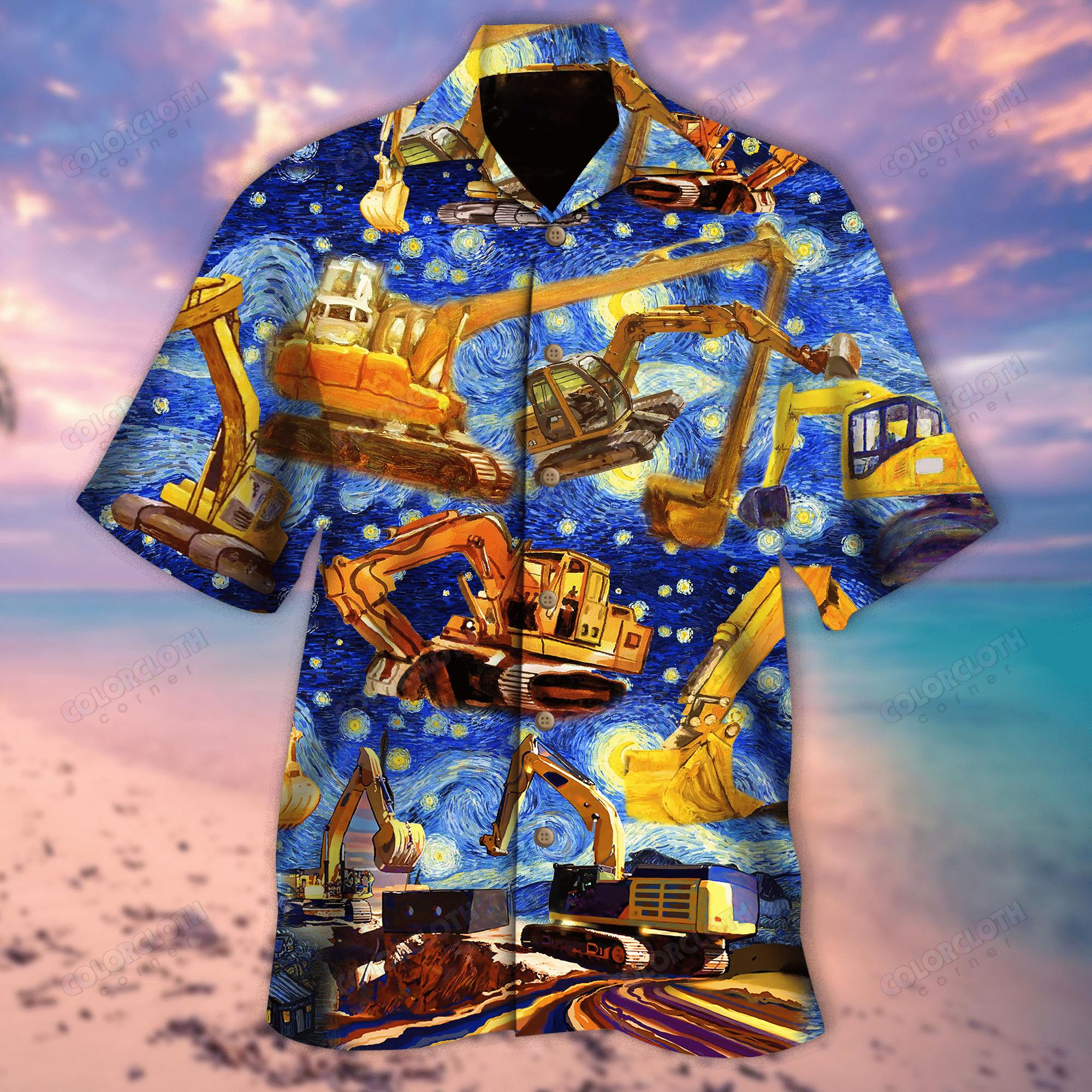 Excavator See You Later Starwars Hawaiian Shirt