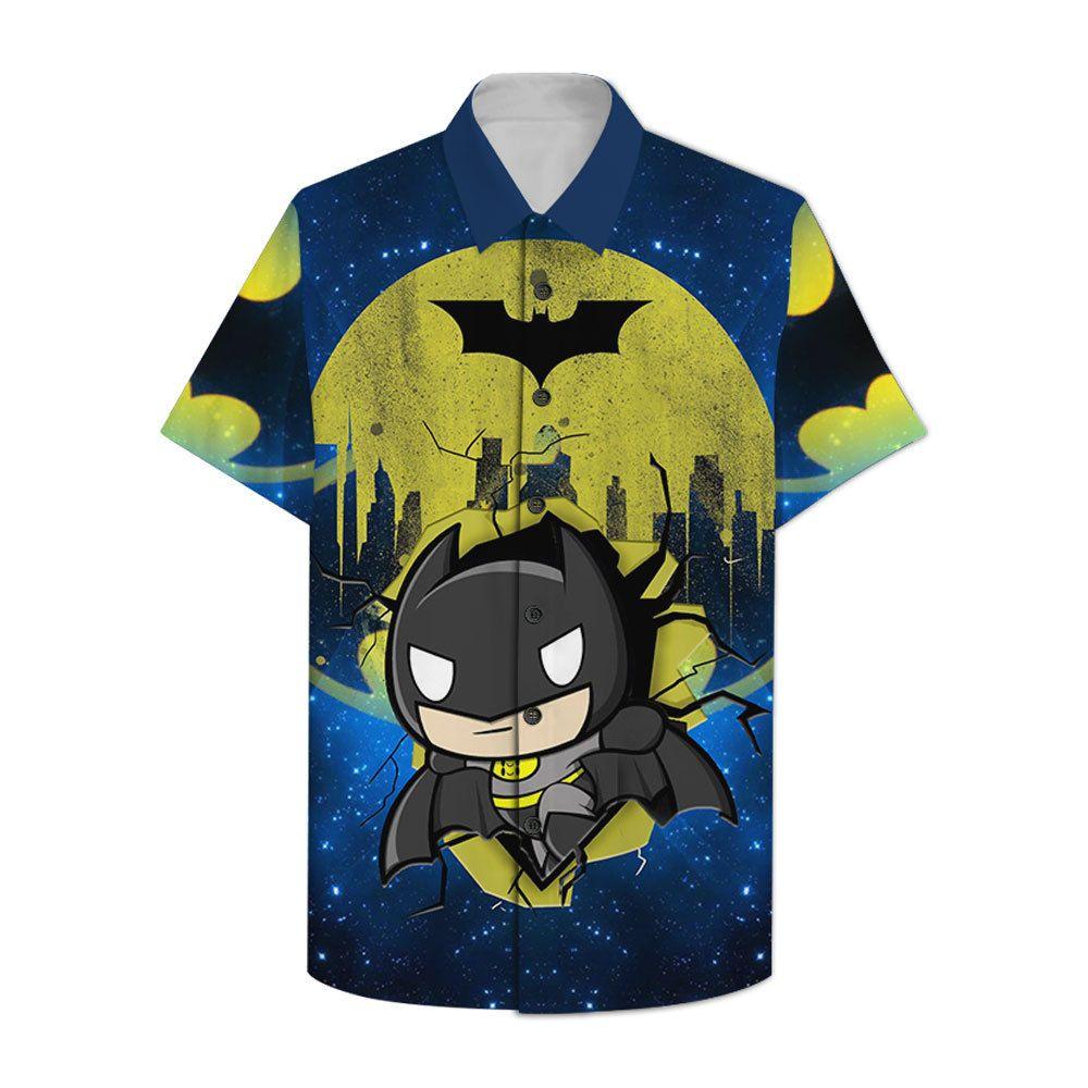 Batman Chibi Style Hawaiian Shirt