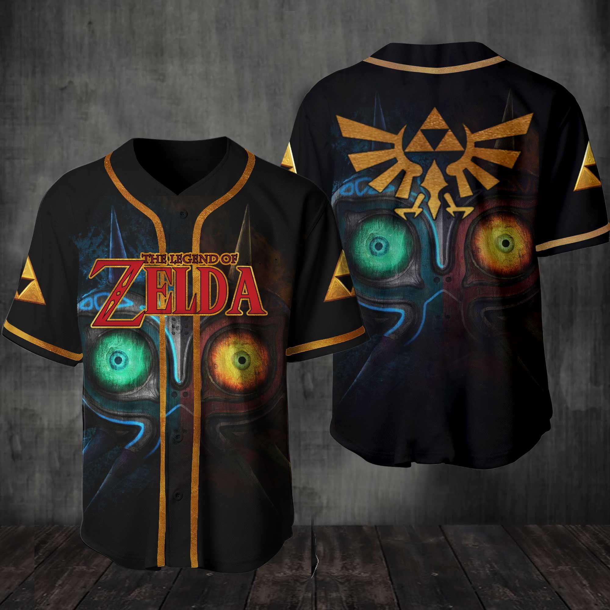 The Legend Of Zelda Baseball Jersey Shirt
