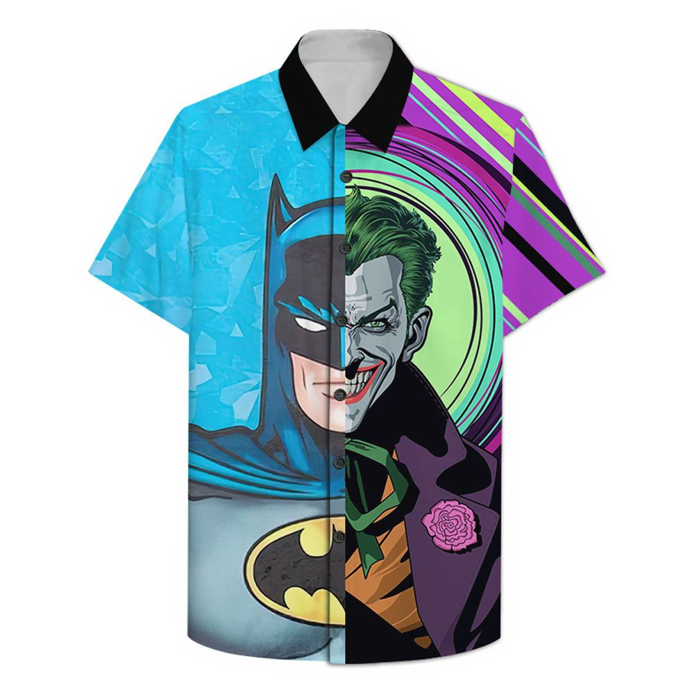 Batman Two Face Hawaiian Shirt