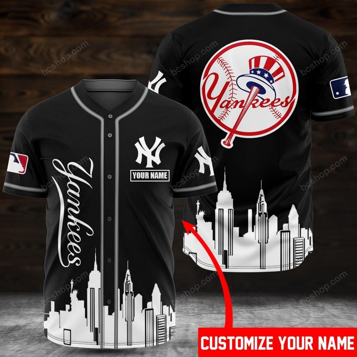 Custom Name New york yankees Baseball Jersey shirt