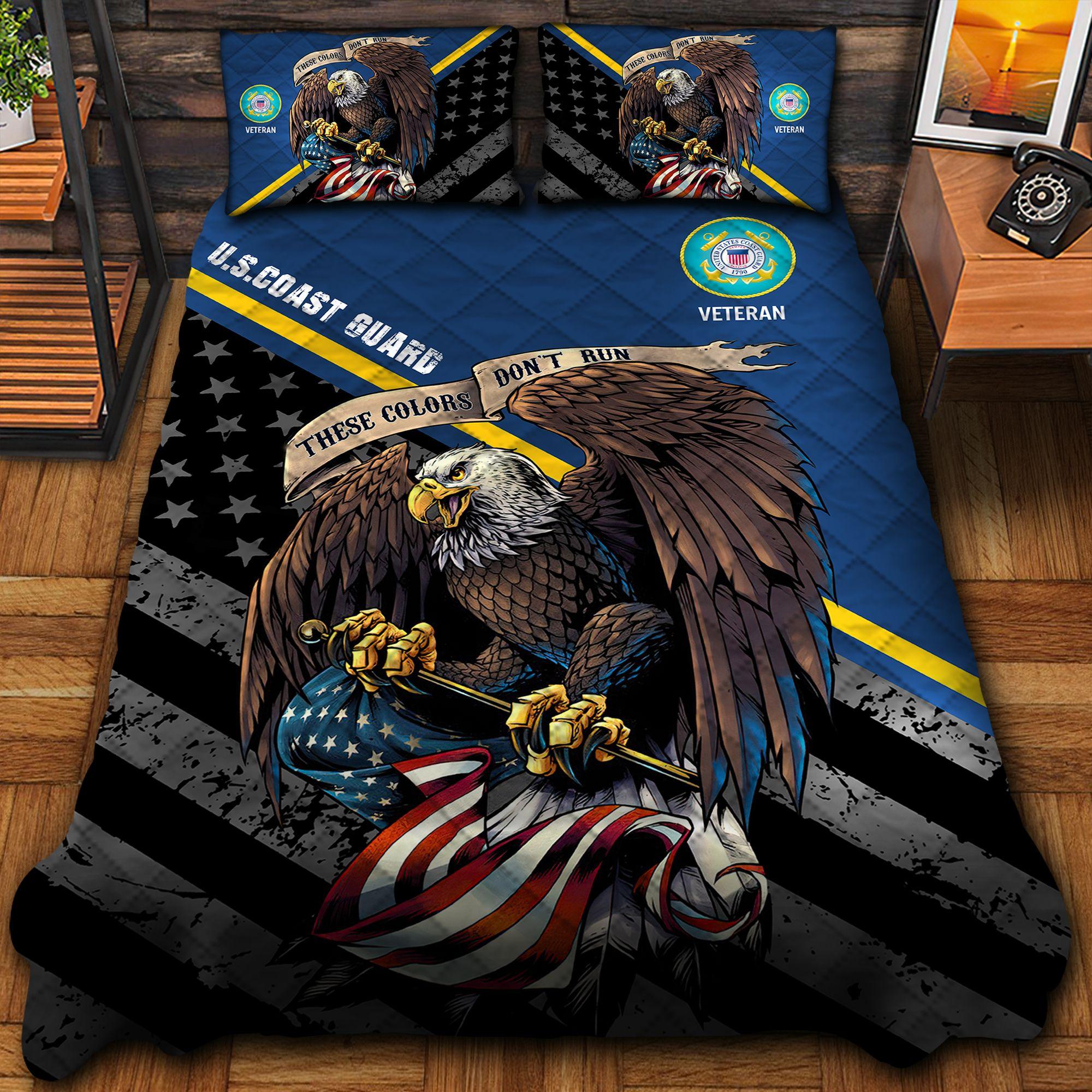 US Coast Guard Bedding Set