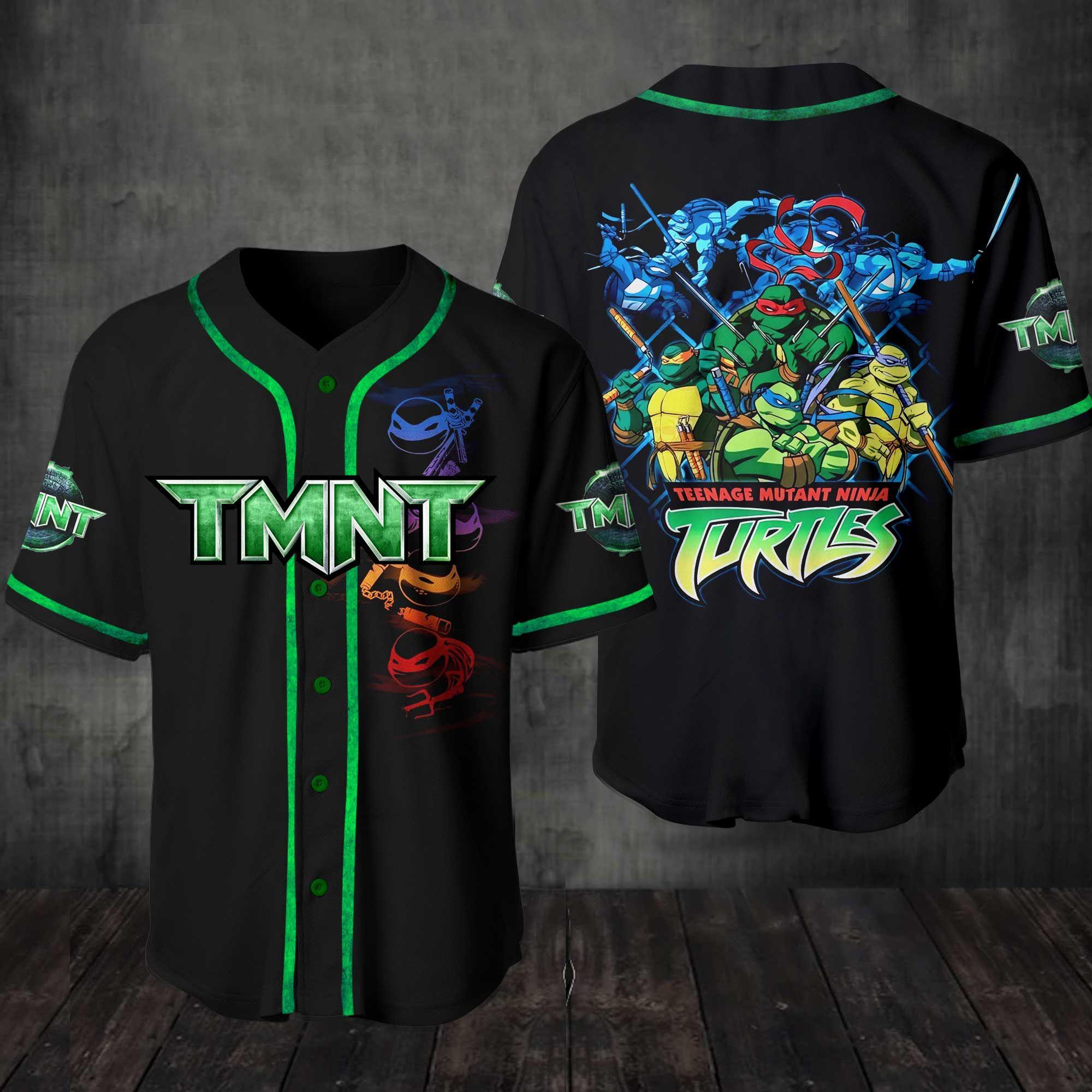 Teenage Mutant Ninja Turtles Baseball Jersey Shirt