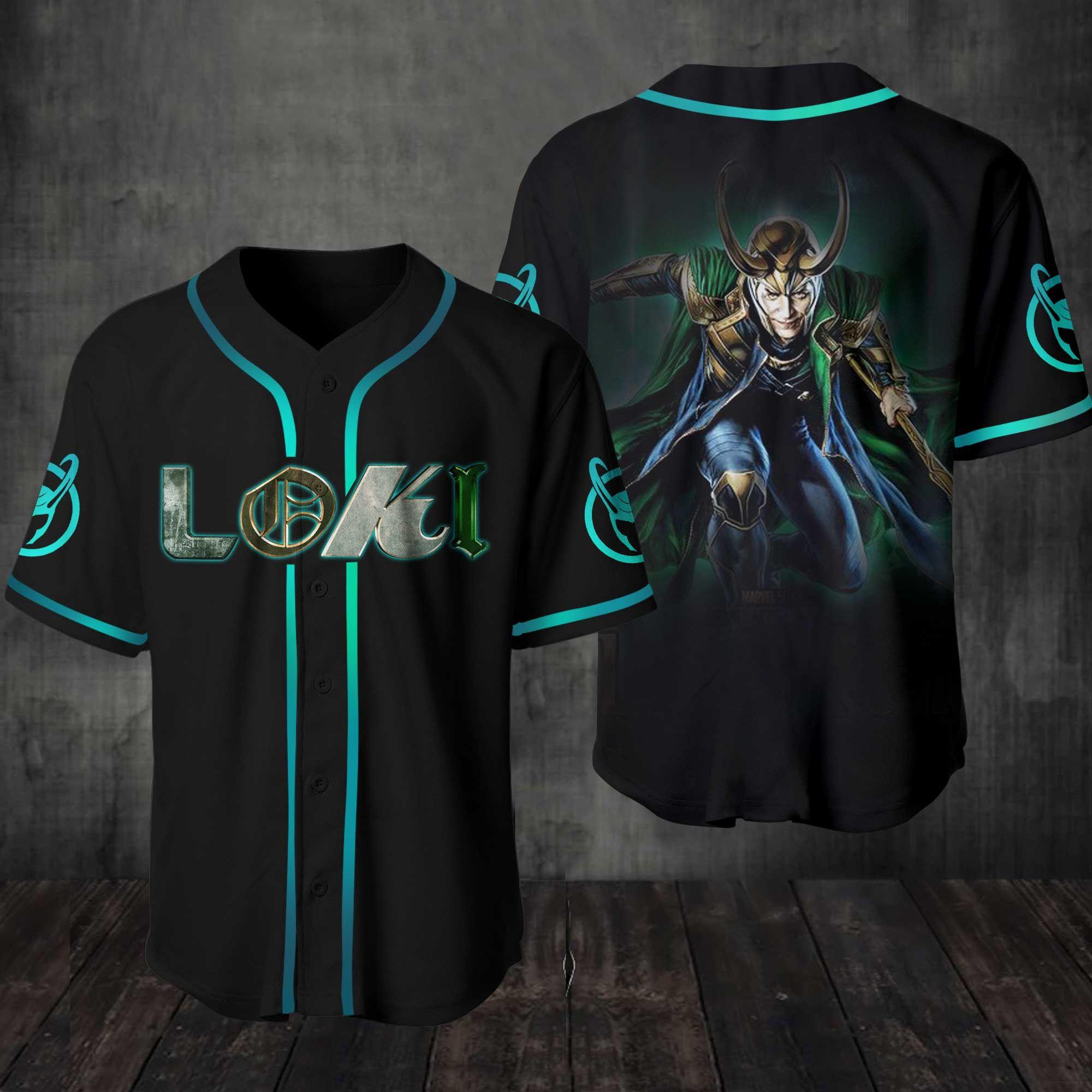 Loki Baseball Jersey shirt
