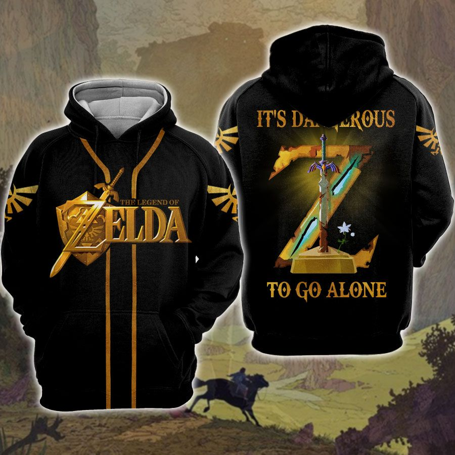Zelda It's dangerous to go alone hoodie