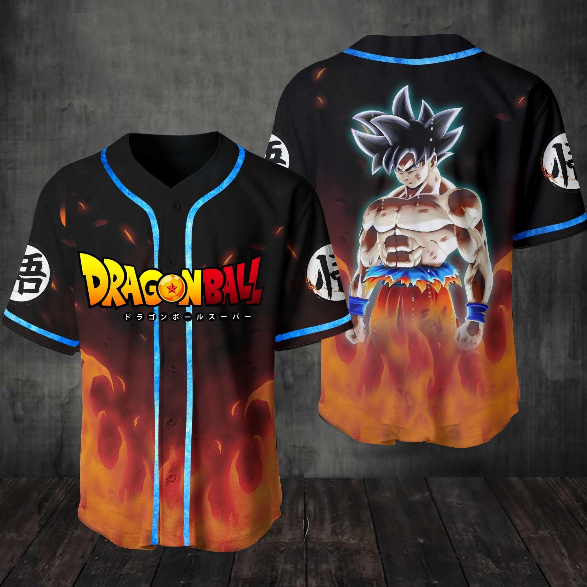 Son Goku Baseball Jersey Shirt