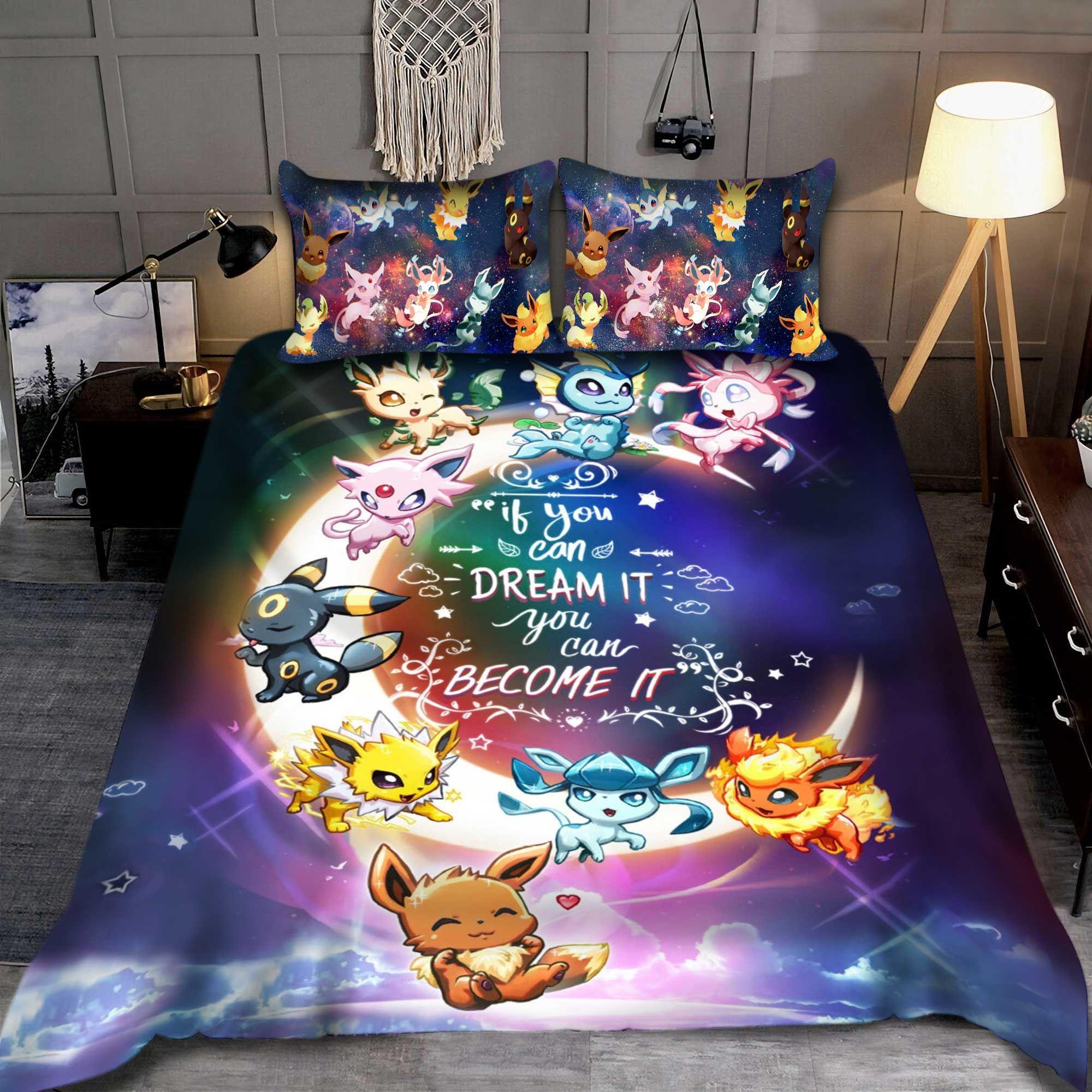 Eevee Moon Bedding set