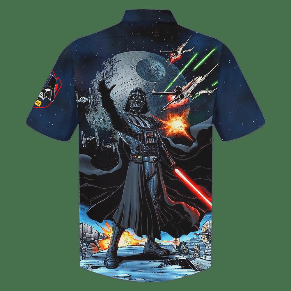 Darth Vader in Battle Of Endor Star Wars Hawaiian Shirt