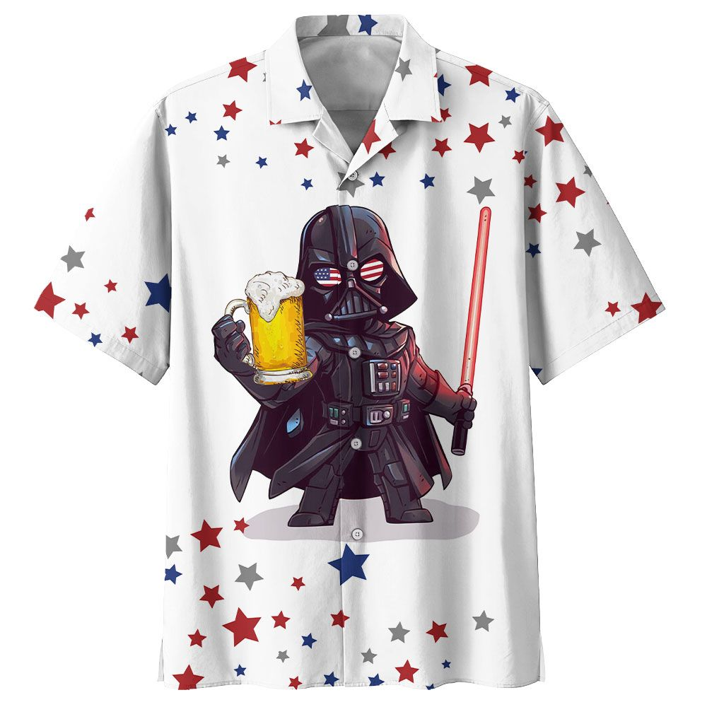 STAR WARS DARTH VADER WITH BEER Hawaiian Shirt