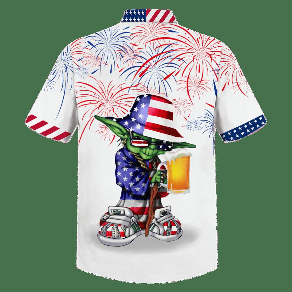 Star Wars Yoda Hip Hop Style Hawaiian Shirt