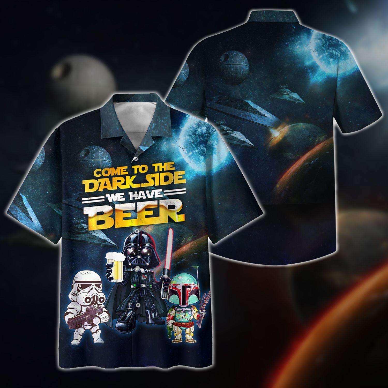 Star Wars Dark Side have beer Hawaiian Shirt