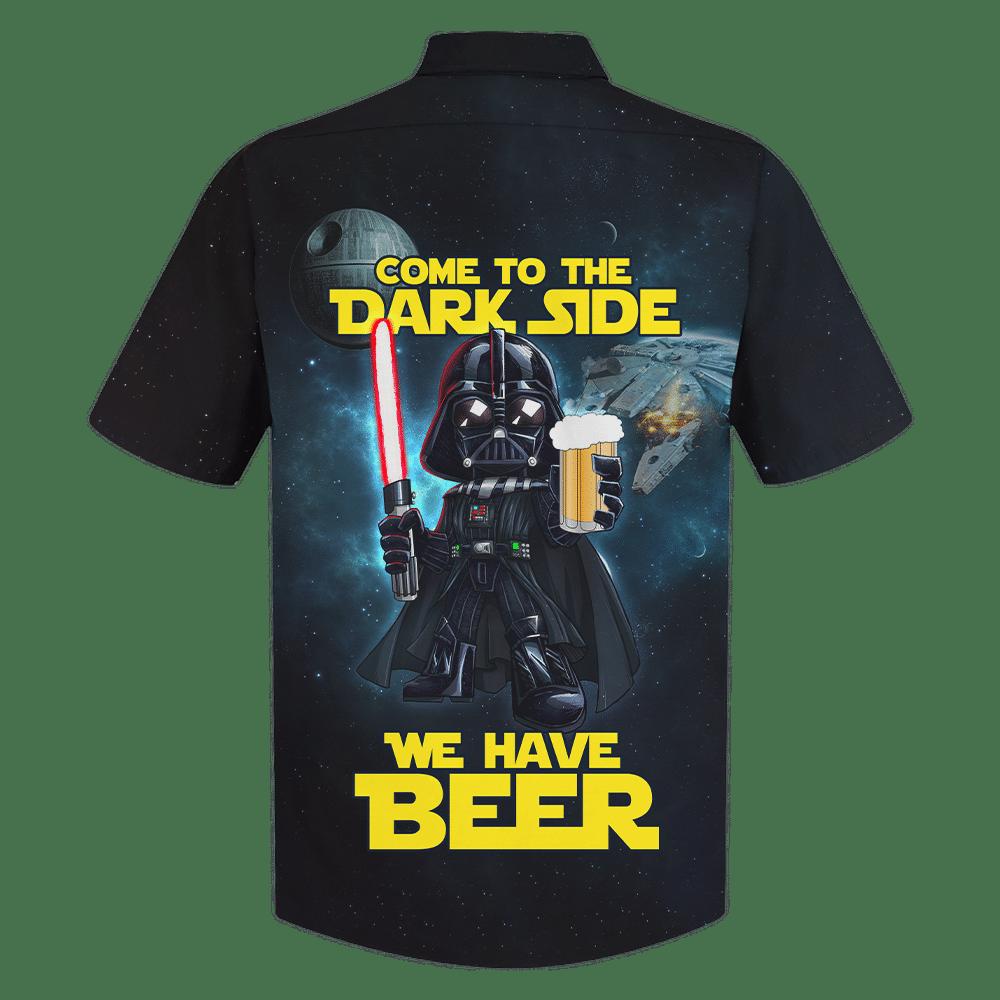 SW Darth Vader Dark Side have beer Hawaiian Shirt