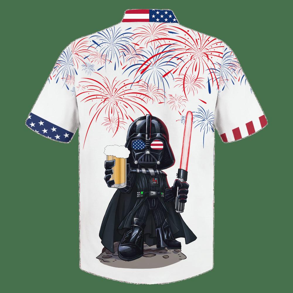 STAR WARS DARTH VADER doodle style Hawaiian Shirt