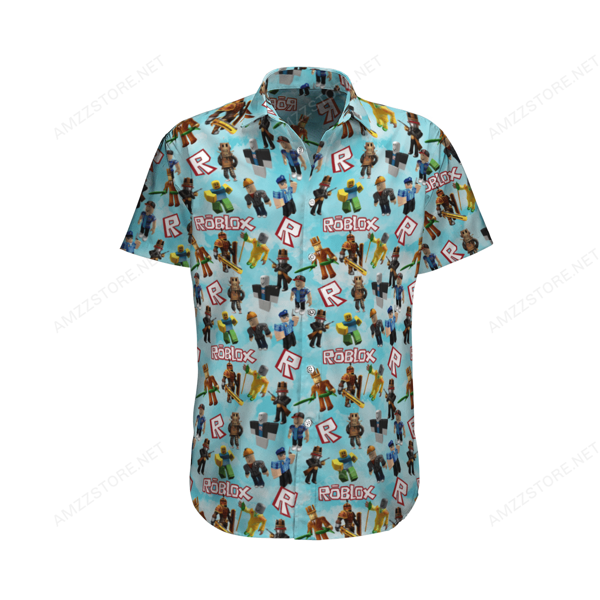 Roblox online game Hawaiian Shirt