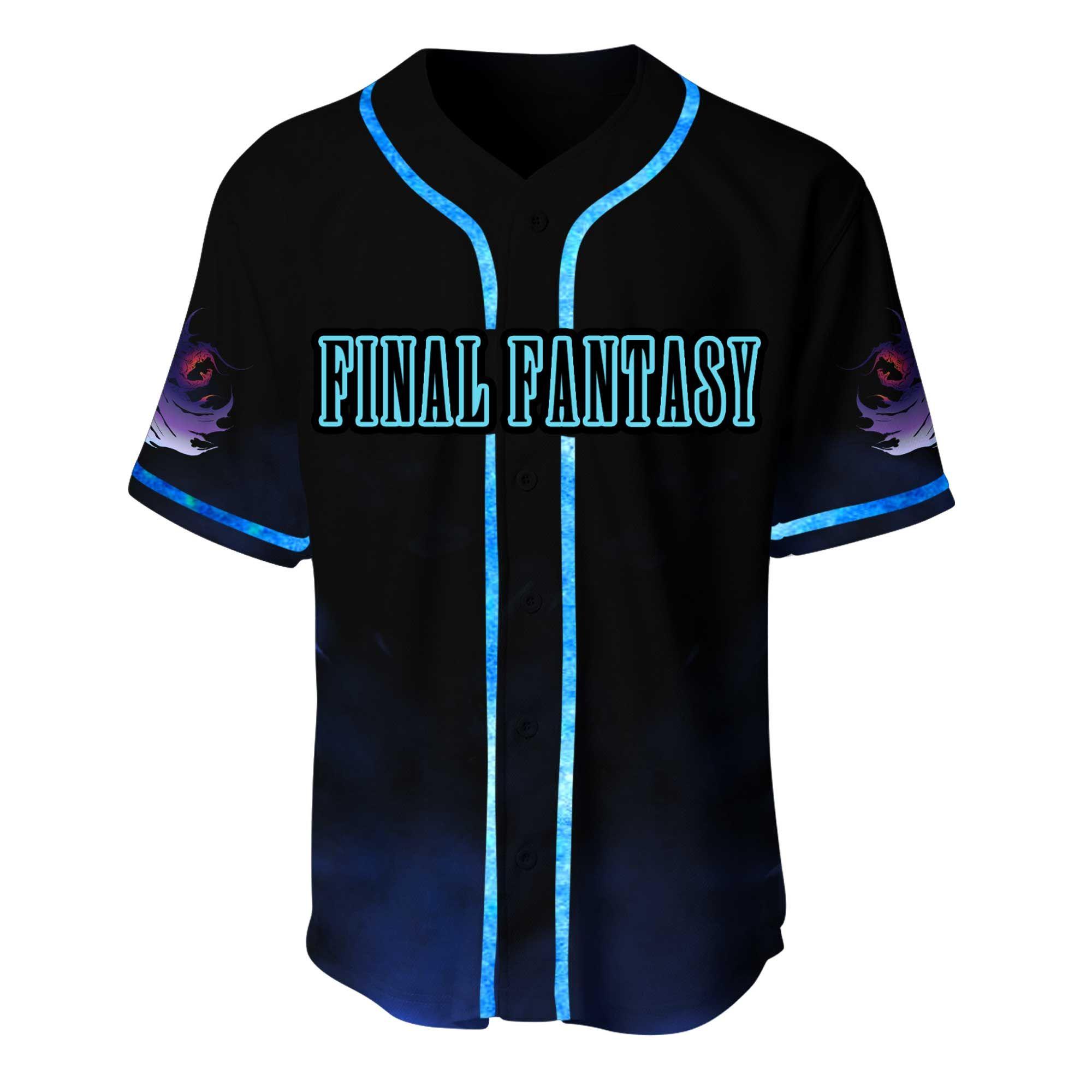 Final Fantasy Baseball Jersey Shirt