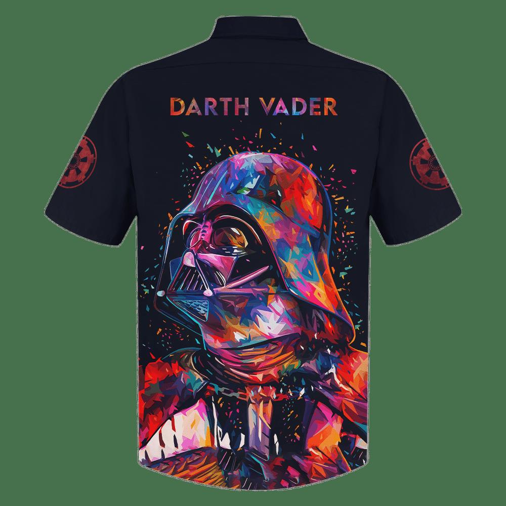 Star Wars Darth Vader multicolor painting Hawaiian Shirt