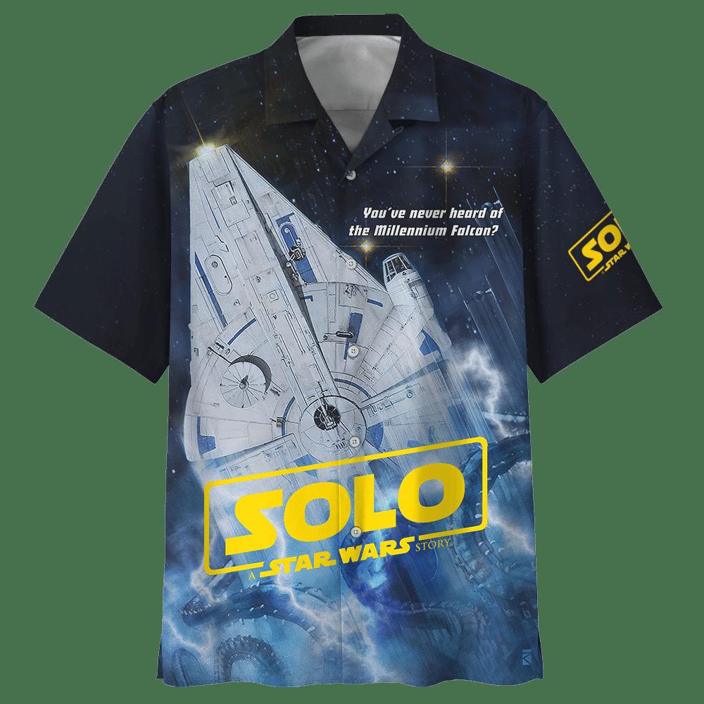 Solo Star wars story Millennium falcon Hawaiian Shirt