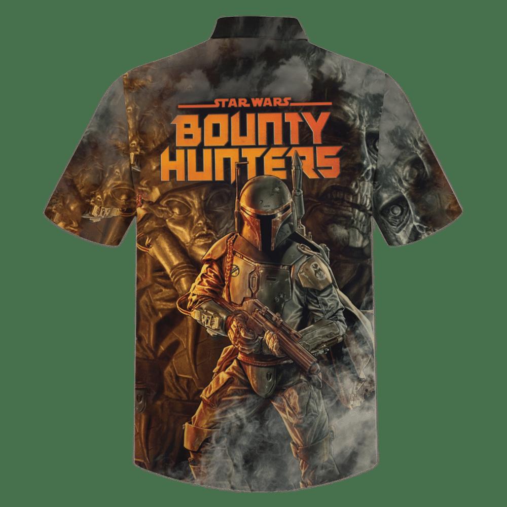 Star Wars Bounty Hunters Hawaiian Shirt