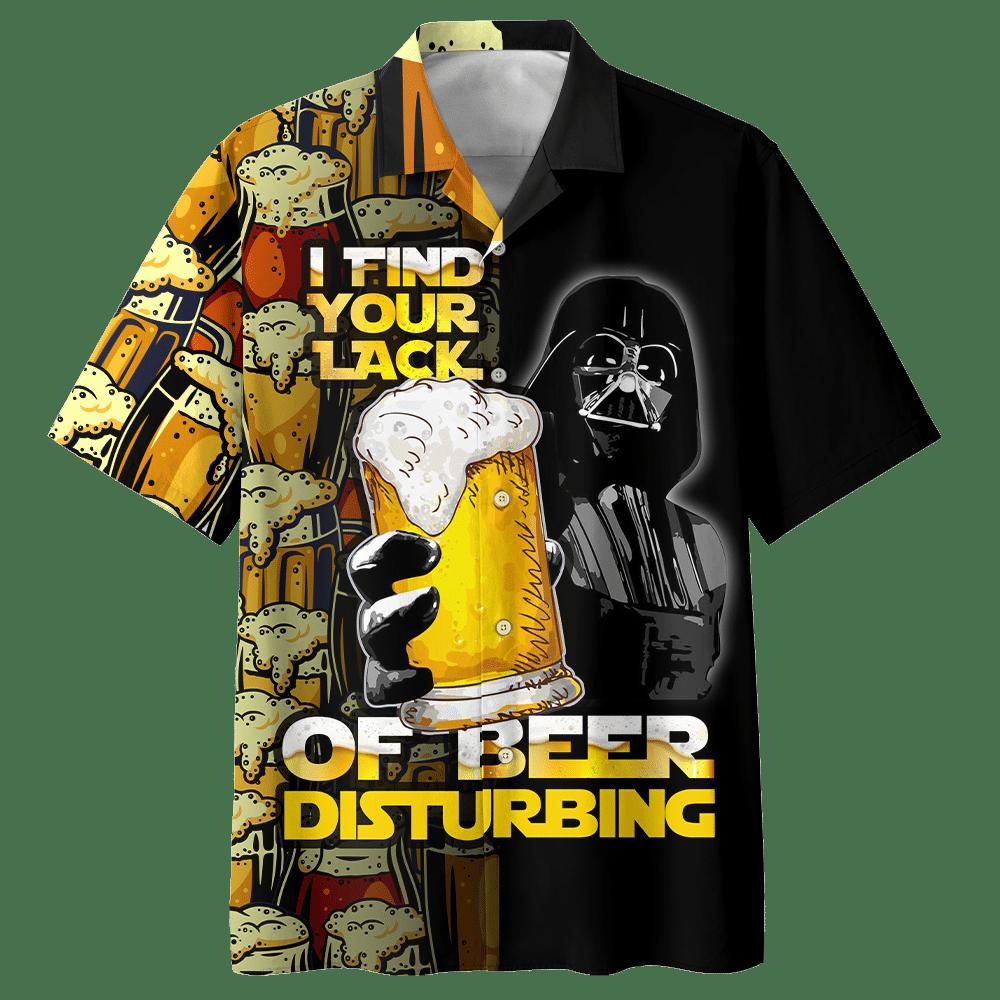 Star Wars Darth Vader I find your lack of beer disturbing Hawaiian Shirt