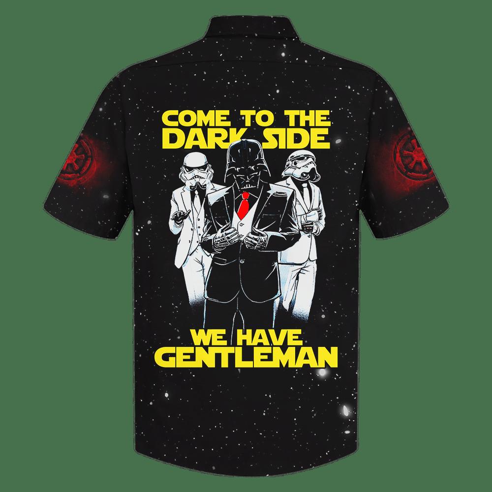 SW Darth Vader Dark Side We have gentleman Hawaiian Shirt