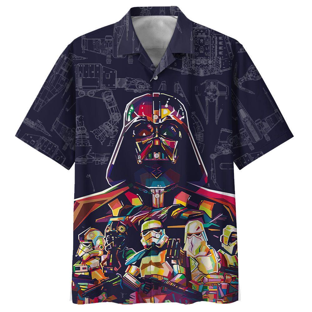 Darth Vader and army Star Wars Hawaiian Shirt