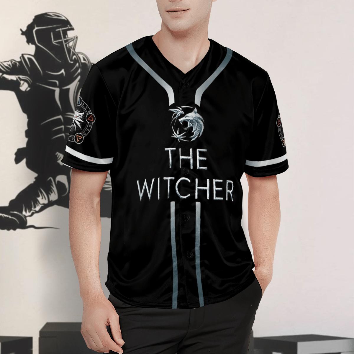 The Witcher Baseball Jersey Shirt