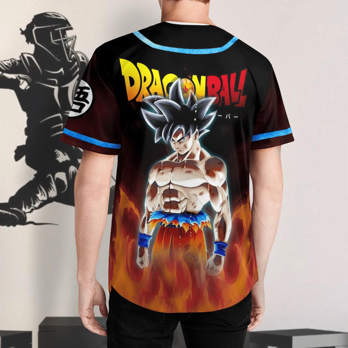 Dragon Ball Son Goku 3D Baseball Jersey Shirt