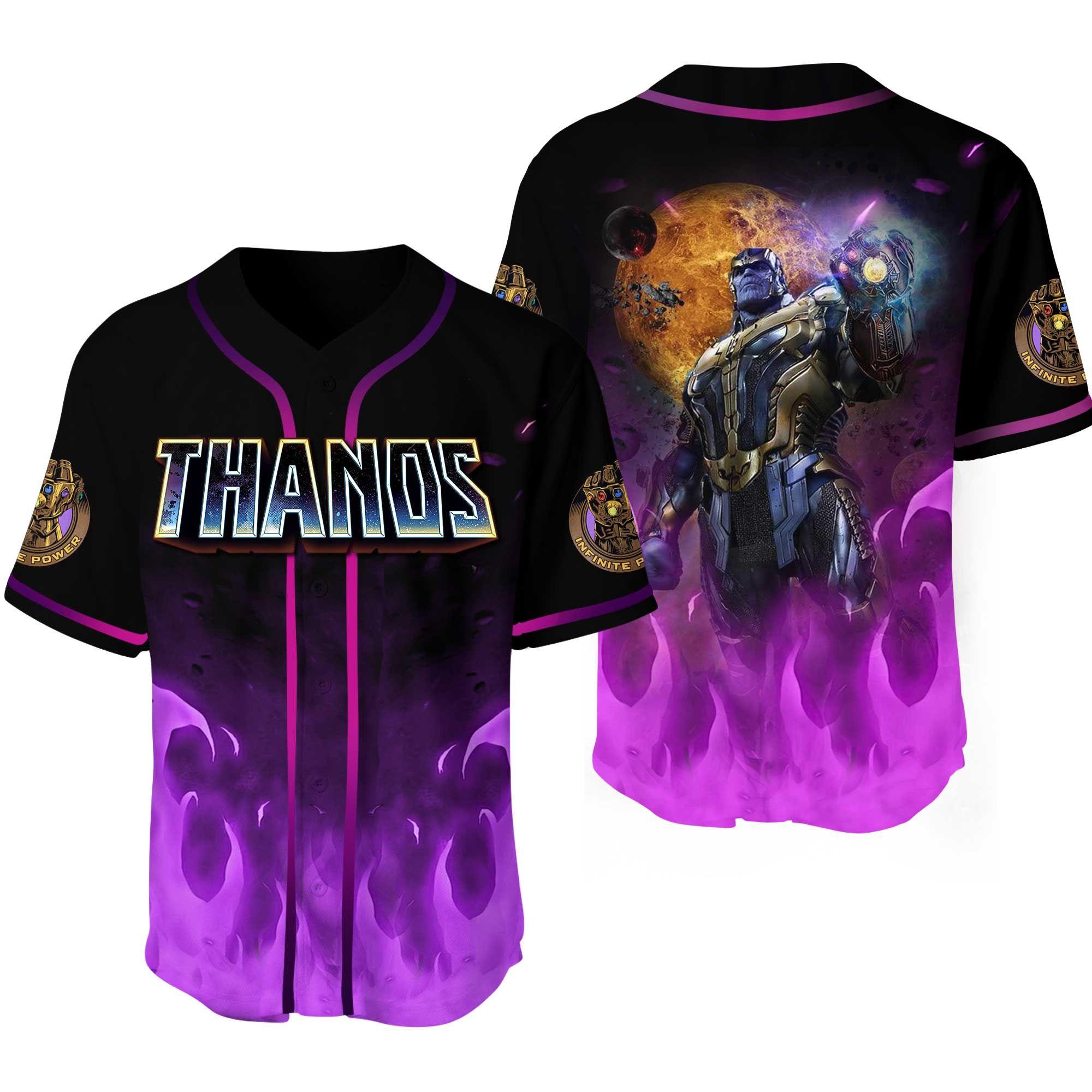 Thanos Baseball Jersey Shirt