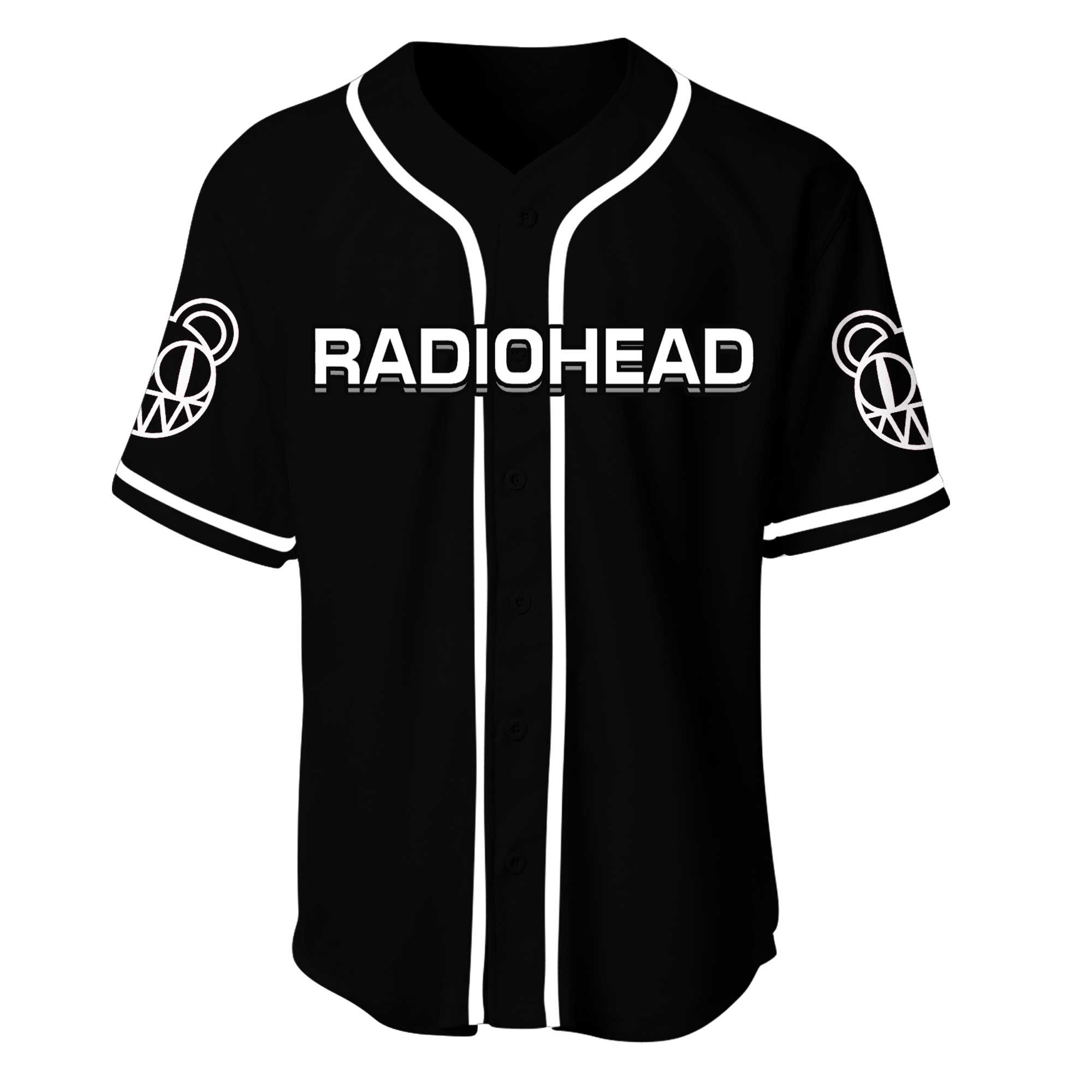 Radiohead Rock Band Baseball Jersey Shirt