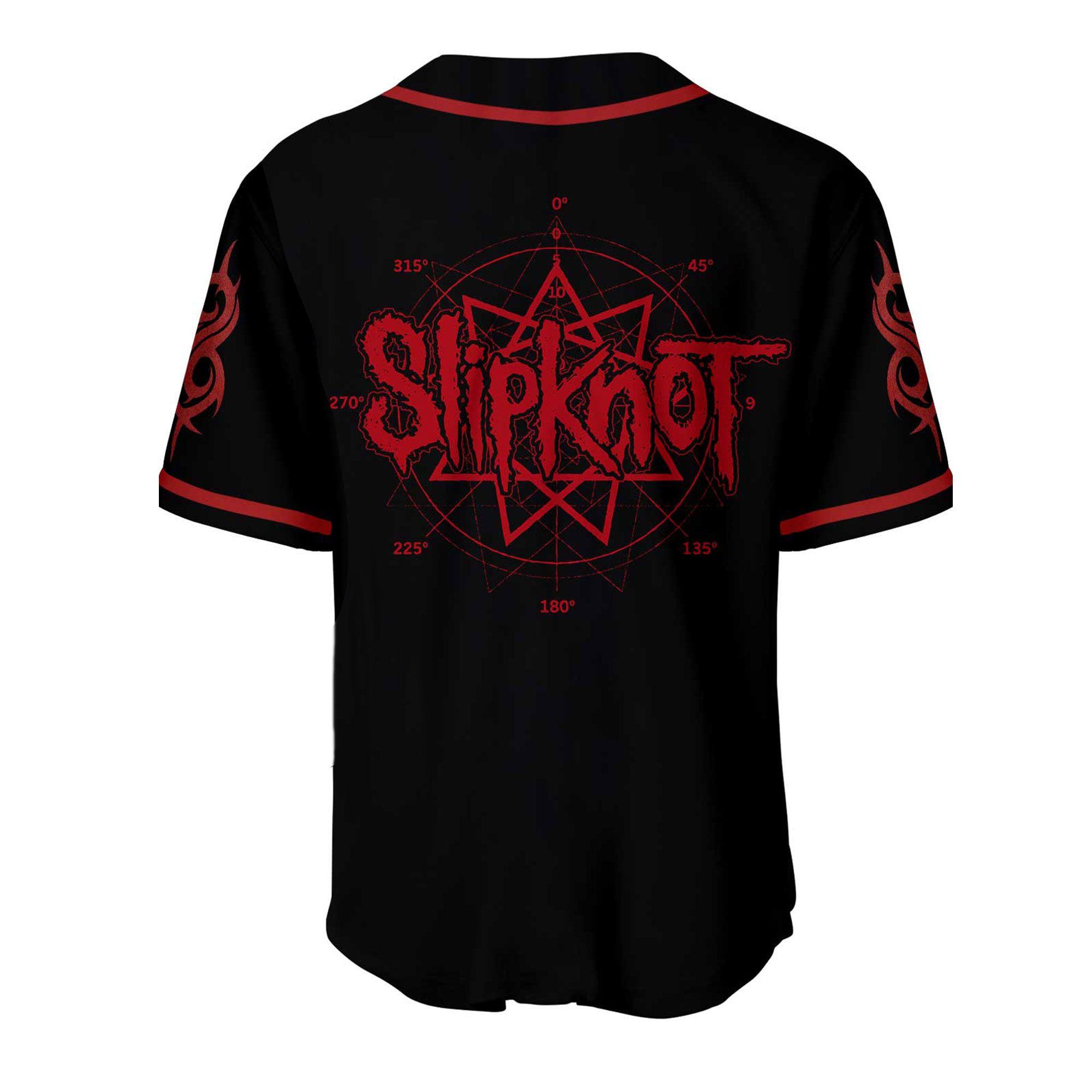 Slipknot Baseball Jersey Shirt