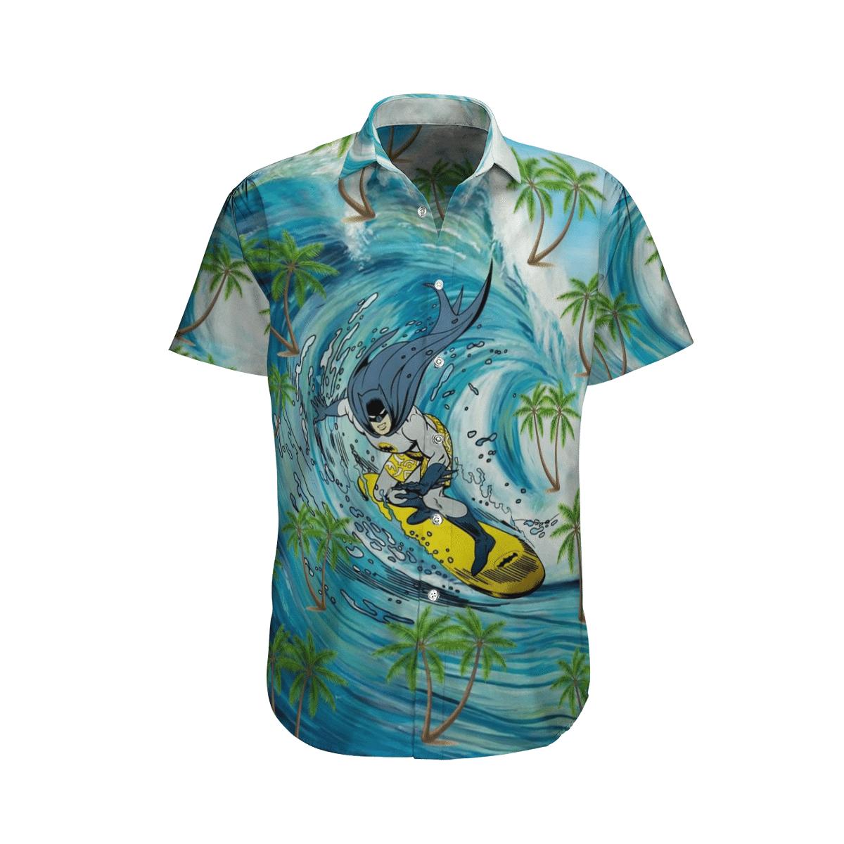 Batman Beach Surfing Hawaiian Shirt Summer Shirt