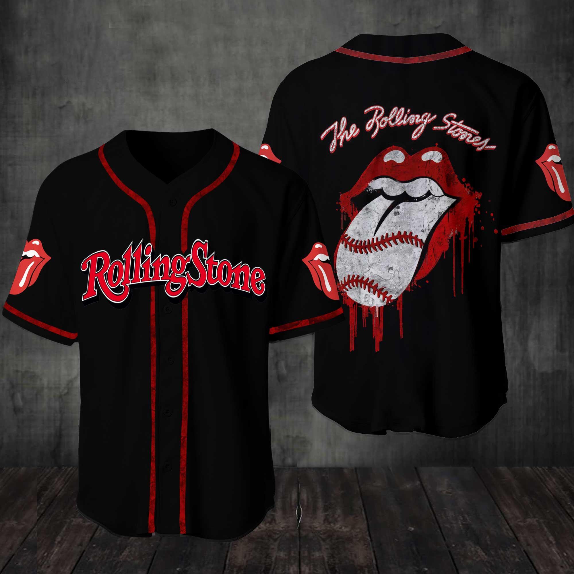 Rollingstone Music magazines Baseball Jersey Shirt