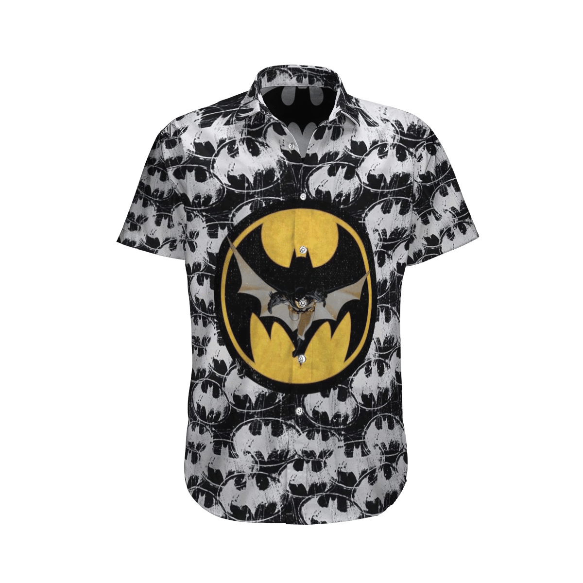 Batman Logo Hawaiian Shirt