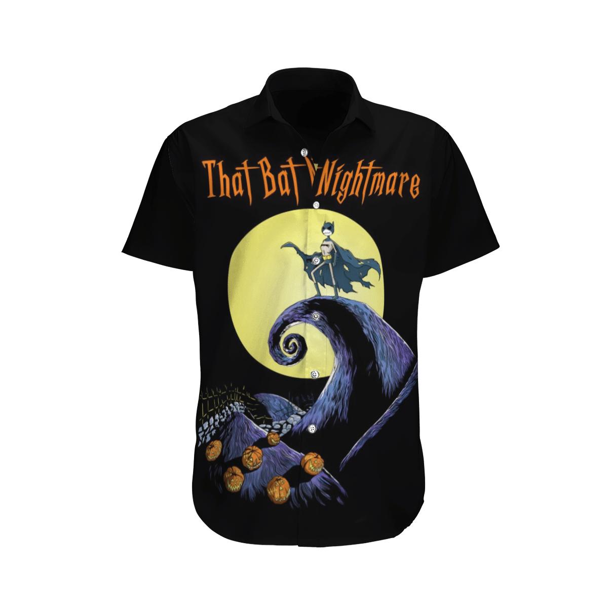 Halloween Nightmare Batman Hawaiian Shirt