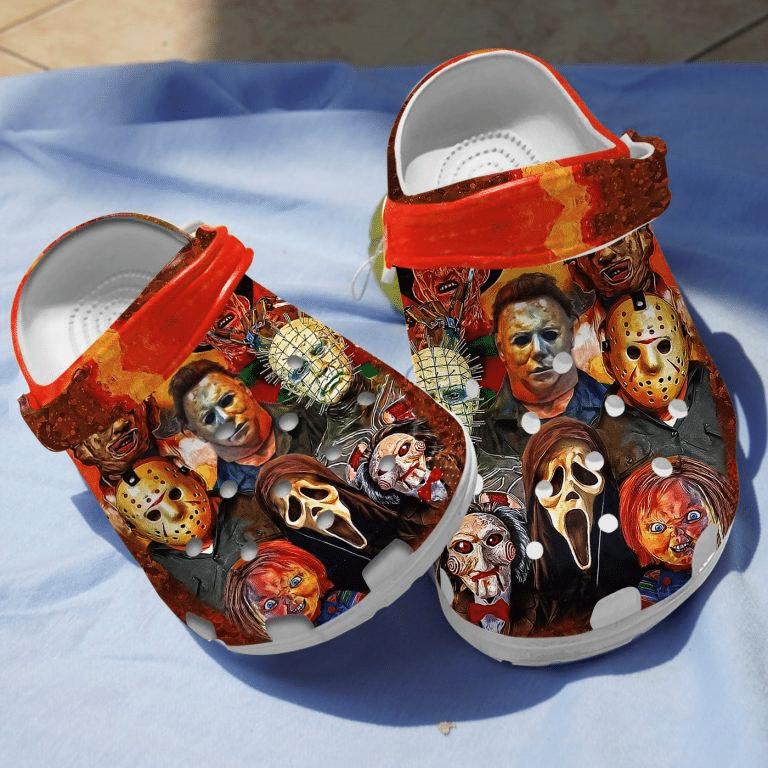 Halloween Horror characters Mask Crocs crocband clogs