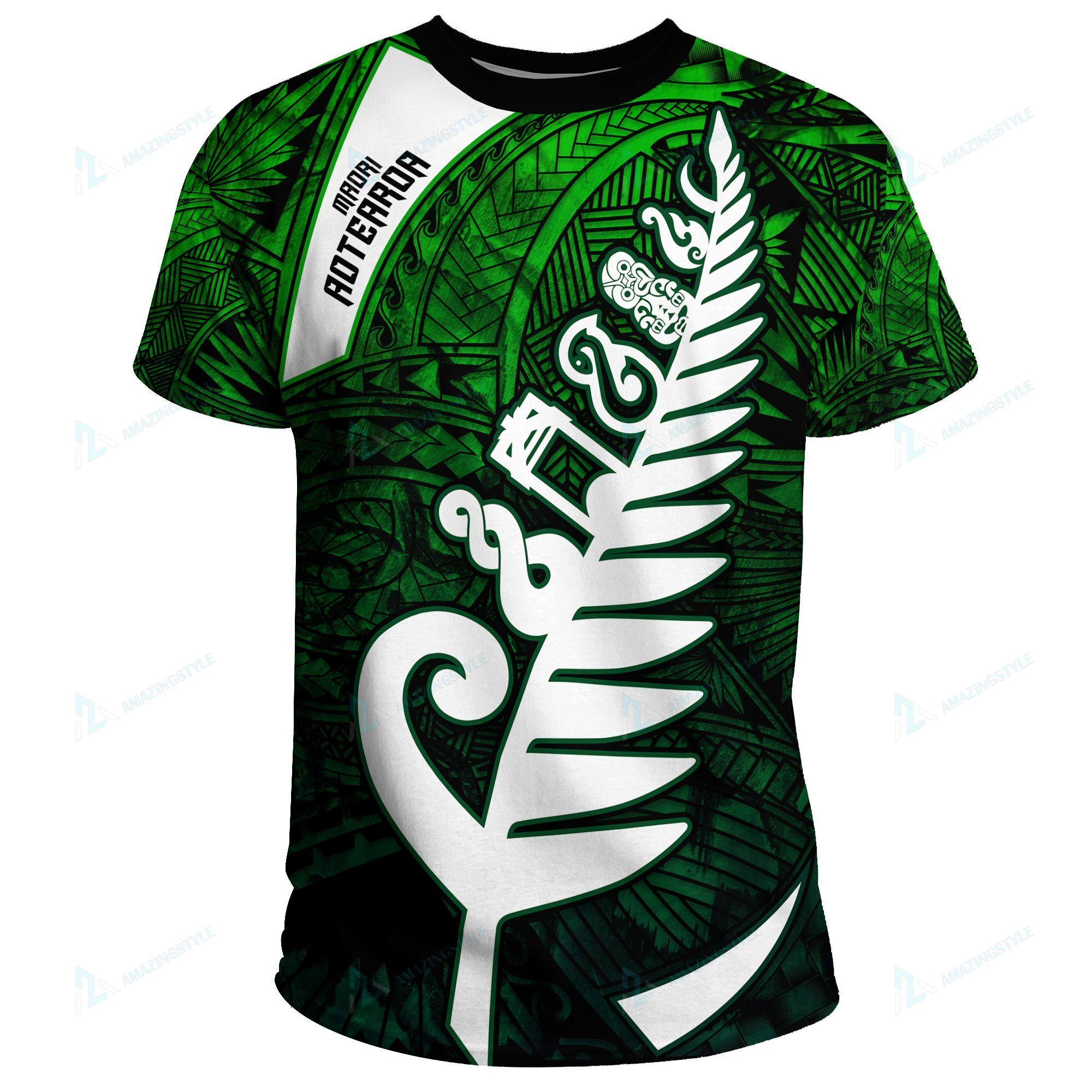 New Zealand Maori Symbols Shirts