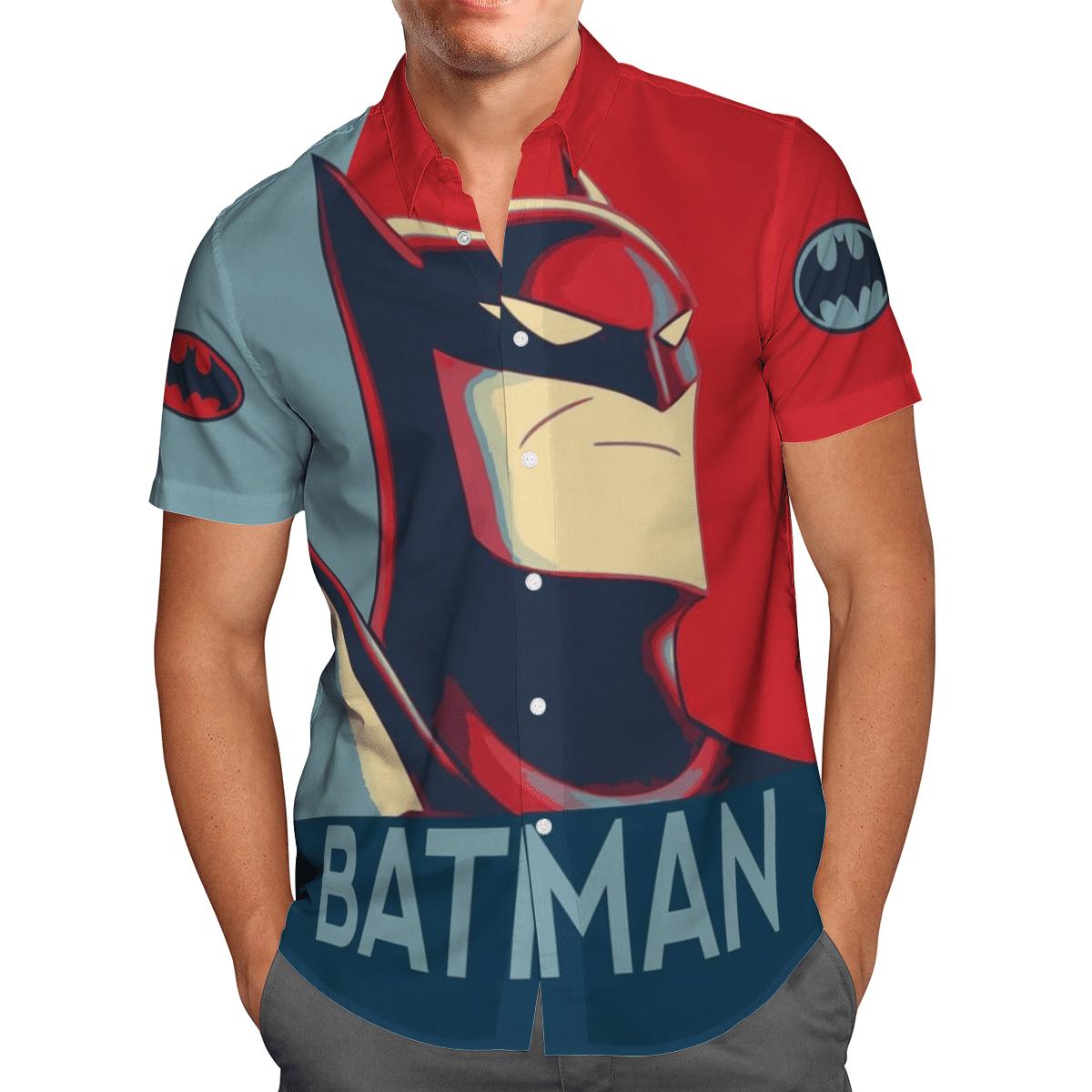 Batman Hero Dark Knight Hawaiian Shirt