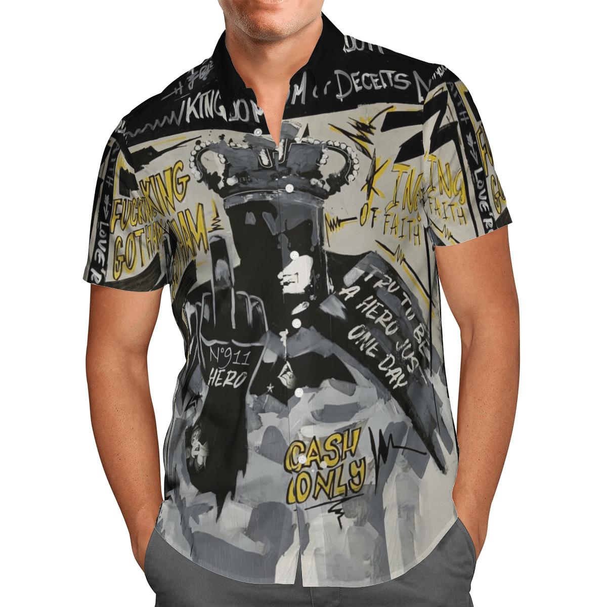 Batman Gotham Fucking Hawaiian Shirt