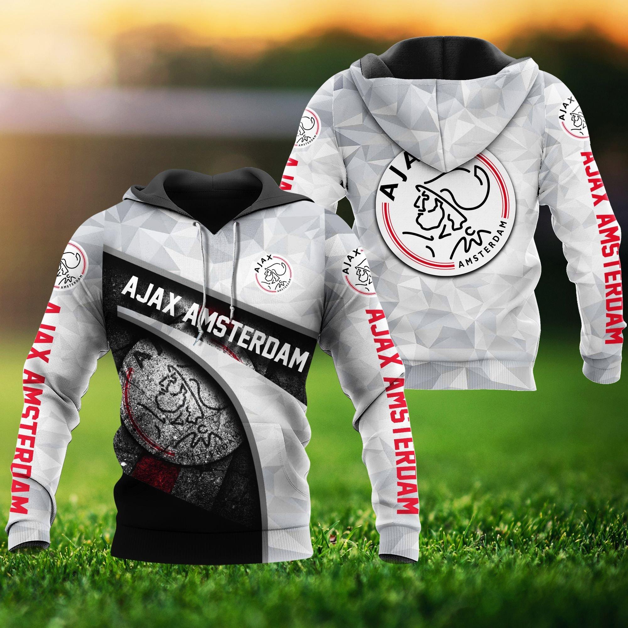 Ajax Amstermdam Hoodie 3D