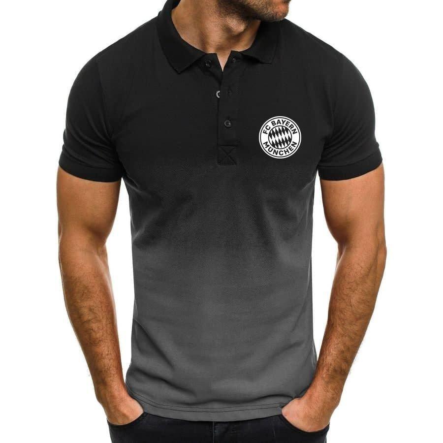 FC Bayern Munchen football club gradient Polo Shirt