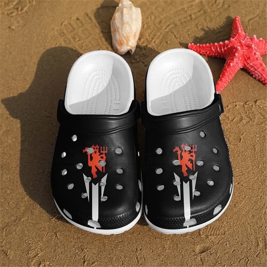 The Red Devils Manchester United Crocs Crocband Clogs
